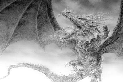 The Ice Dragon book full width cover