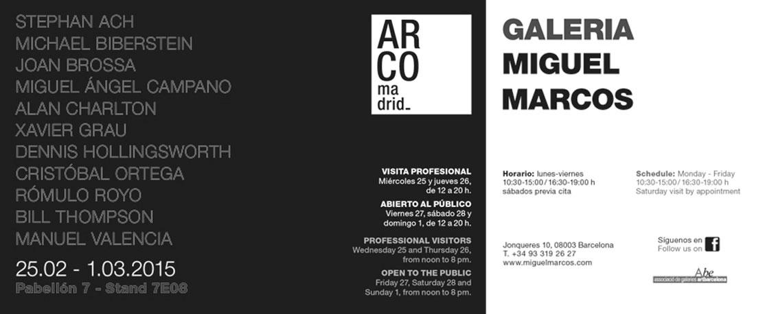 ARCO 2015 Invitation card