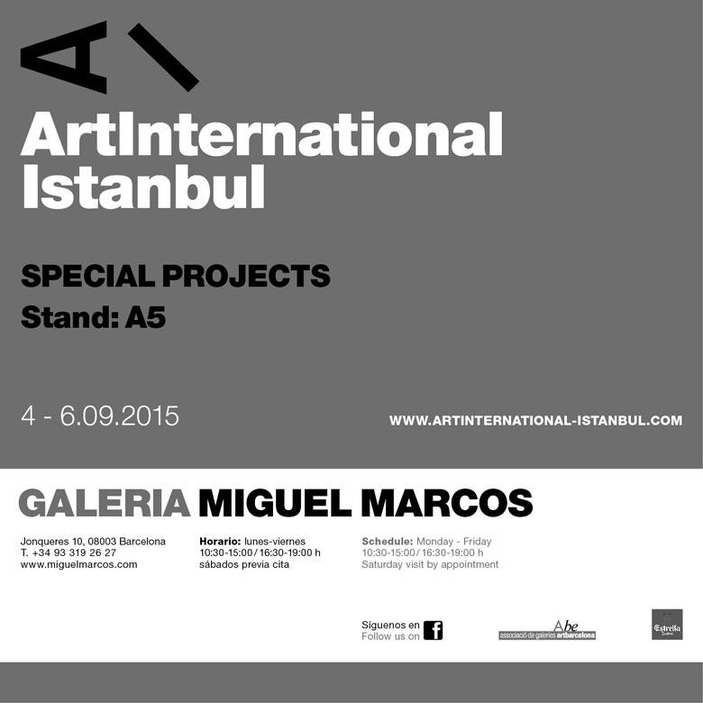 ArtInternational, Miguel Marcos Gallery invitation