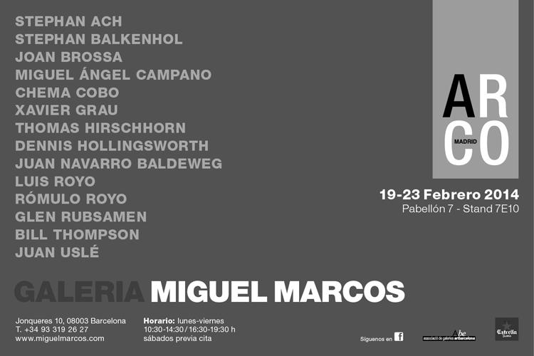 Pintores de la galeria Miguel Marcos