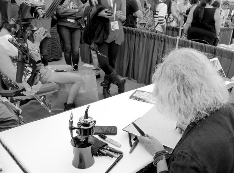 San Diego Comic Con 2015 Luis Royo Signatures