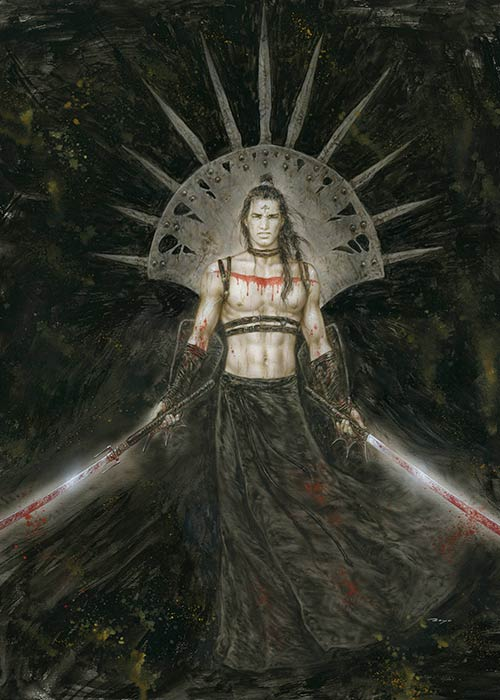 Luis_Royo-Laberinto-gris-gallery-art-illustration-sale-originals-fantasy-drawing-El-simbolo-ha-muerto